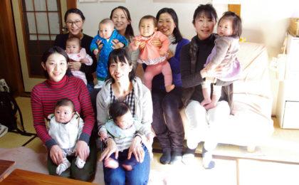 2月15日「赤ちゃんごはんの会」のようす